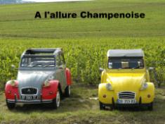 visiter Reims 2CV - visiter Reims en champagne avec A l'Allure Champenoise