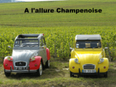 visiter Reims 2CV - visiter Reims en Champagne-Paris proche du Champagne, se balader à Reims