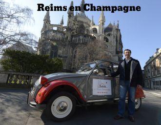 tourisme à Reims en Champagne, visiter Reims les jours de la semaine, Cathédrale de Reims