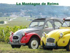 tourisme Reims champagne - visiter Reims en 2cv le week end, départ de Paris